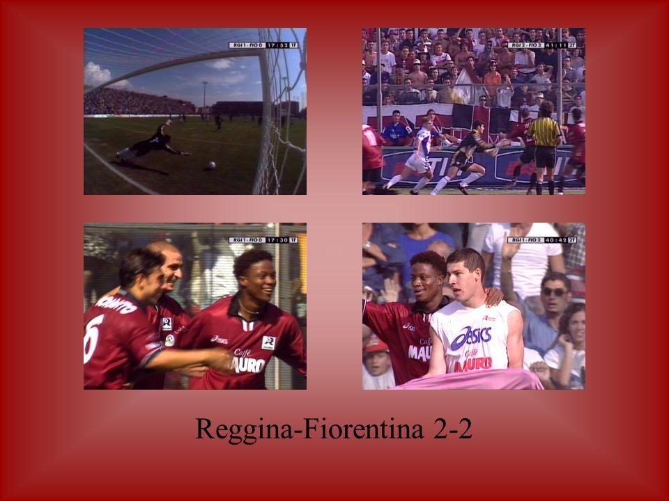 Reggina-Fiorentina 2-2