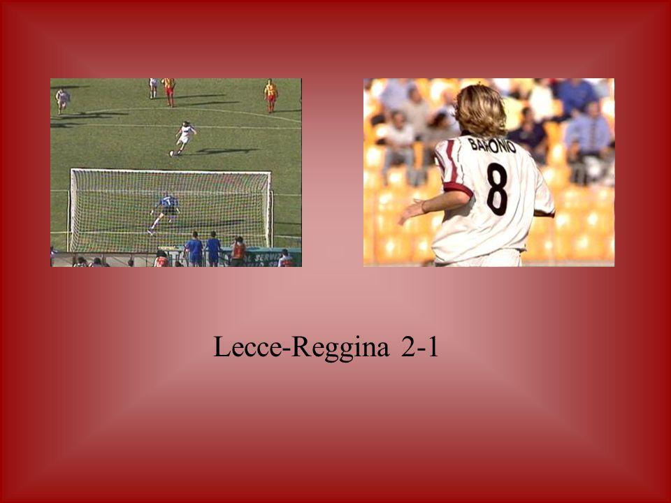 Lecce-Reggina 2-1