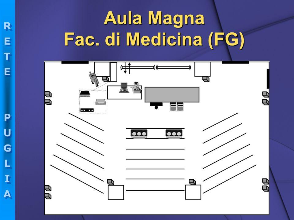 RETEPUGLIARETEPUGLIA RETEPUGLIARETEPUGLIA Aula Magna Fac. di Medicina (FG)