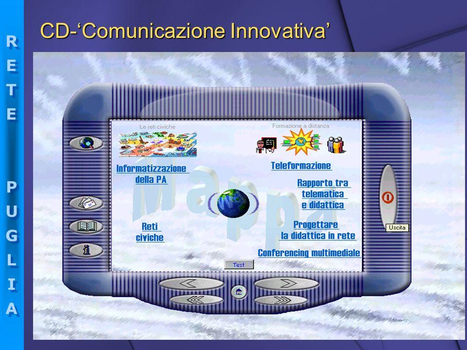 RETEPUGLIARETEPUGLIA RETEPUGLIARETEPUGLIA CD-Comunicazione Innovativa