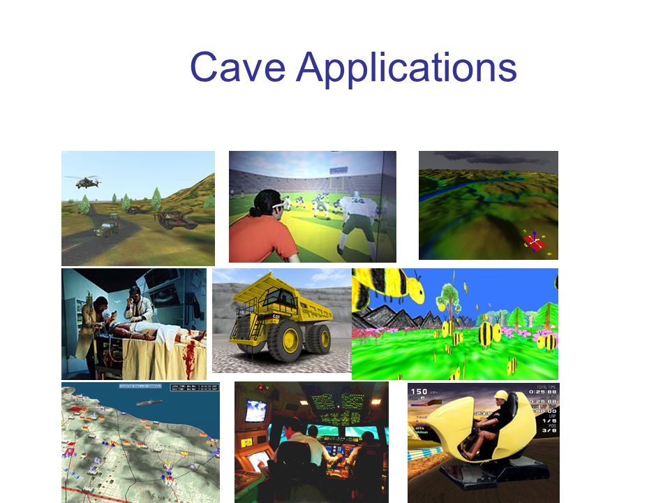Cave Applications