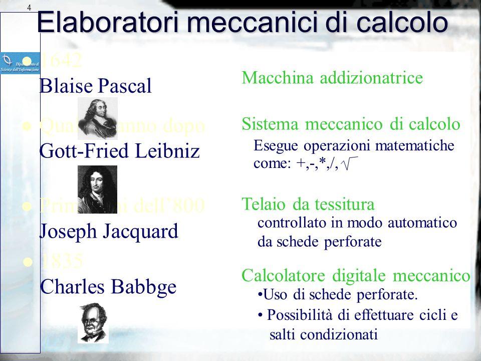 3 Il primo strumento di calcolo n 2000 anni a.c. LABACO UNITA CENTINAIA DECINE MIGLIAIA DECINE DI MIGLIAIA MILIONI