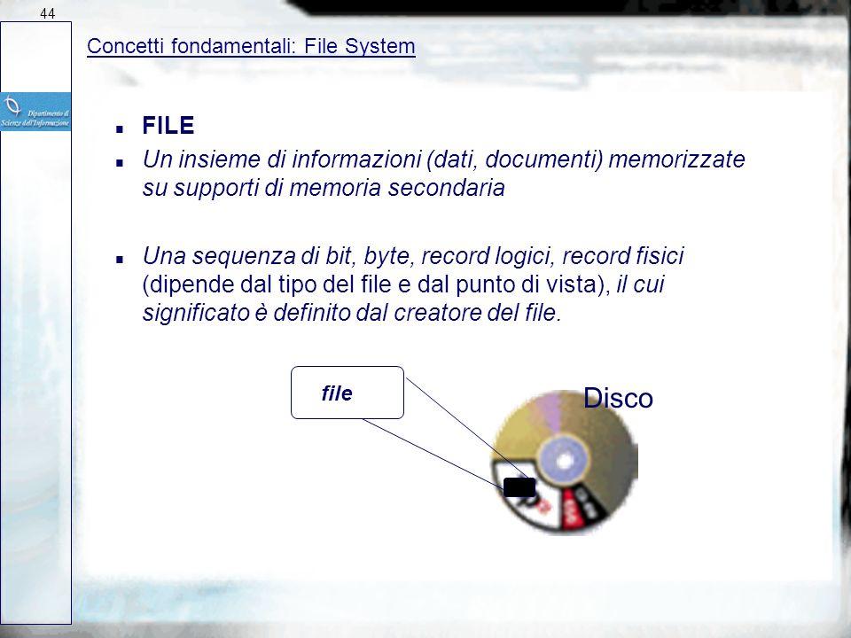 Sistemi Operativi: Componenti di un SO Nucleo (kernel) Gestore memoriaGestore I/O Gestore files Interfaccia utente EditorLibrerie Tools Programmi appl