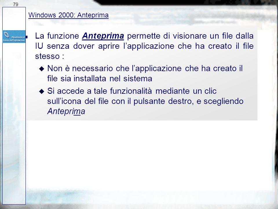 n La Cartella Stampanti riunisce la gestione e configurazione delle stampanti n La Cartella Fonts permette di installare e gestire tutti i tipi di car