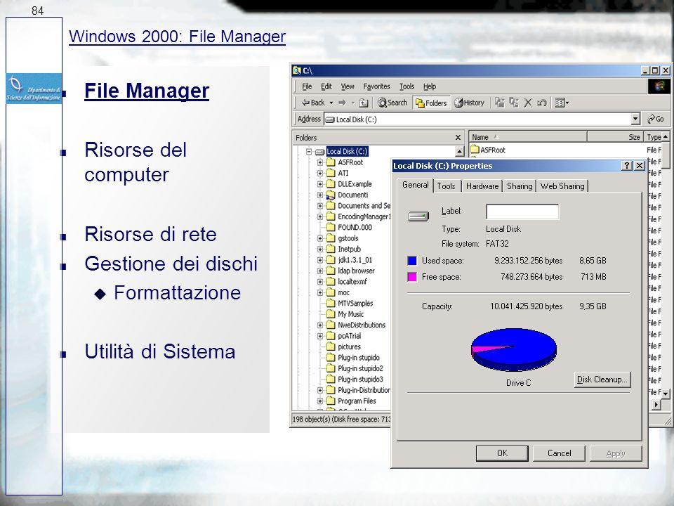 n Connessioni di rete n Caratteristiche: u Architettura di rete a 32 bit, supporta fino a 10 client u Integrazione con server Windows NT ed altre reti