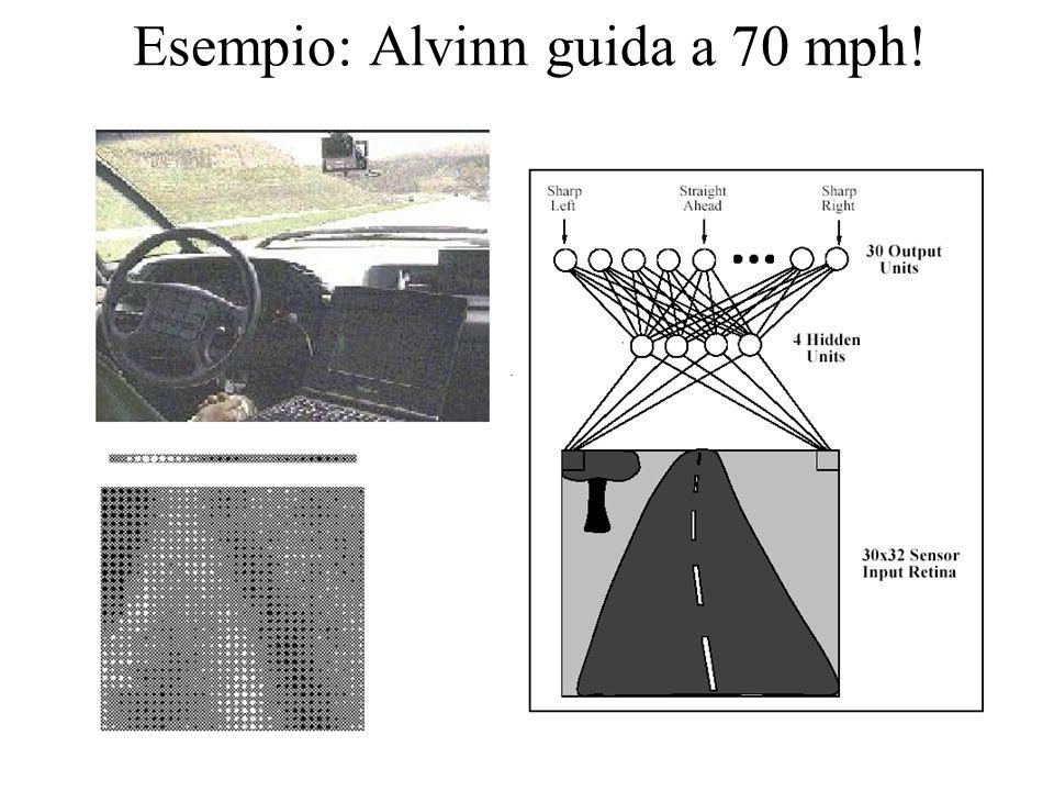 Esempio: Alvinn guida a 70 mph!