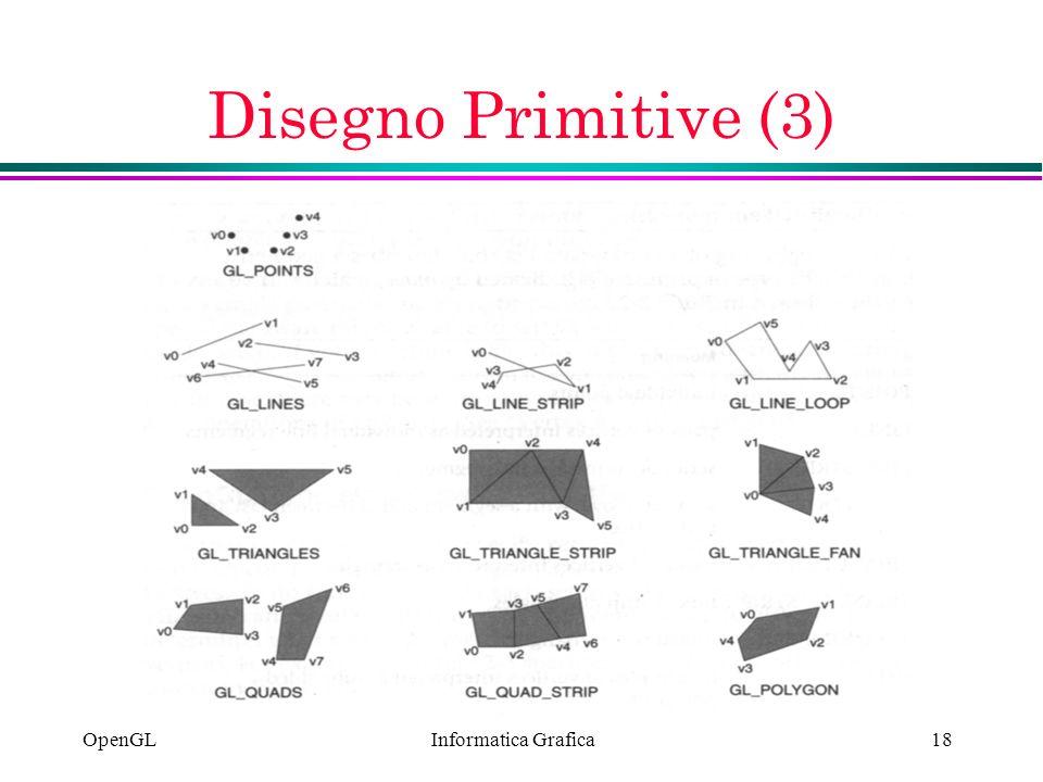 Informatica Grafica OpenGL18 Disegno Primitive (3)