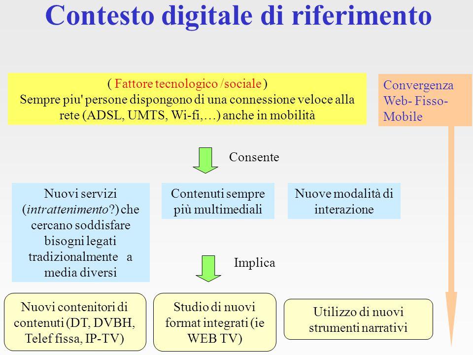 Convergenza Web - Tel fisso - Mobile Applicazione Sistema editoriale Motore di pubblicazione Prelevati i flussi xml Dispositivi mobili (Cellulari, palmari,.