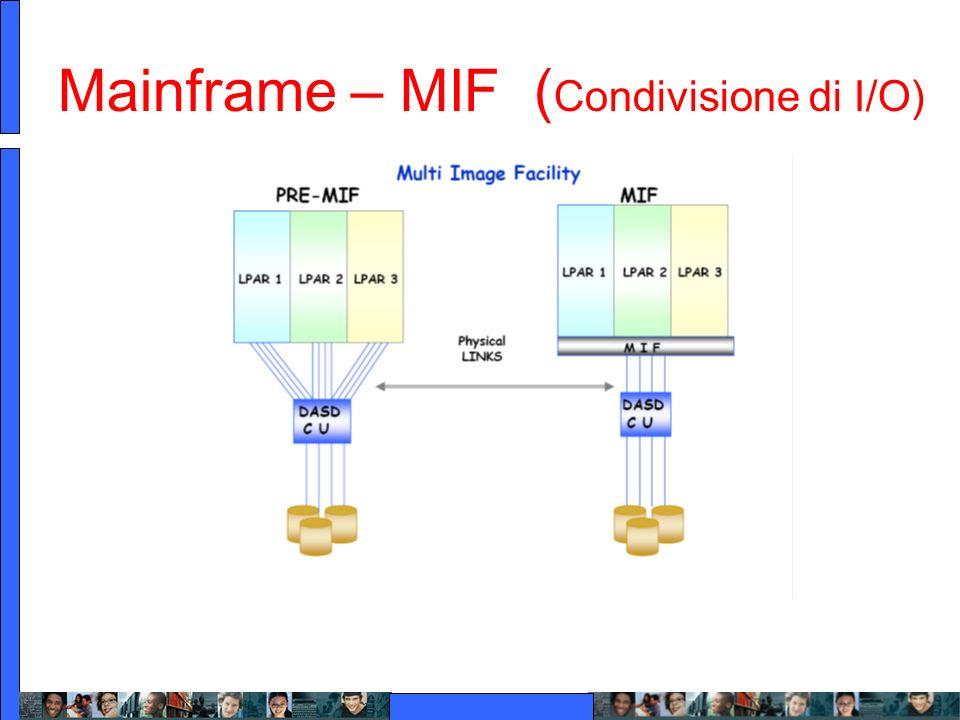 Mainframe – MIF ( Condivisione di I/O)