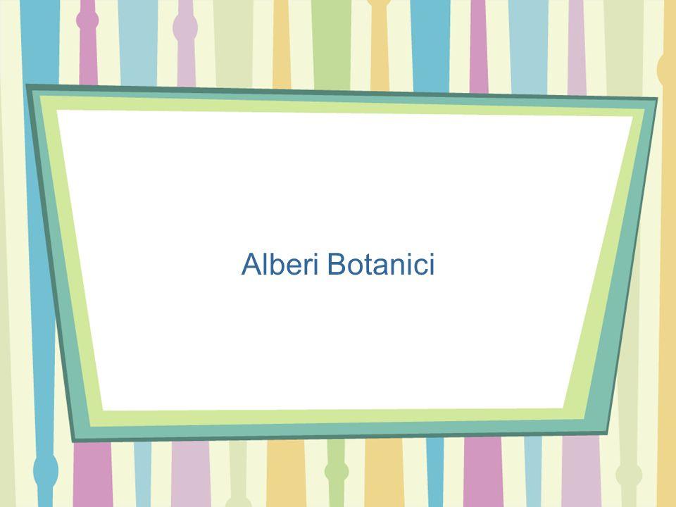 Alberi Botanici