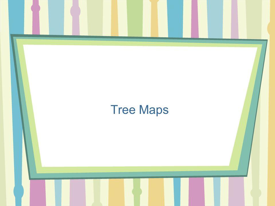 Algoritmi per la Visualizzazione Prof.ssa Tiziana Calamoneri 7 Tree maps (1) Le tree maps utilizzano un algoritmo di riempimento dello spazio che riempie ricorsivamente aree rettangolari con componenti della gerarchia