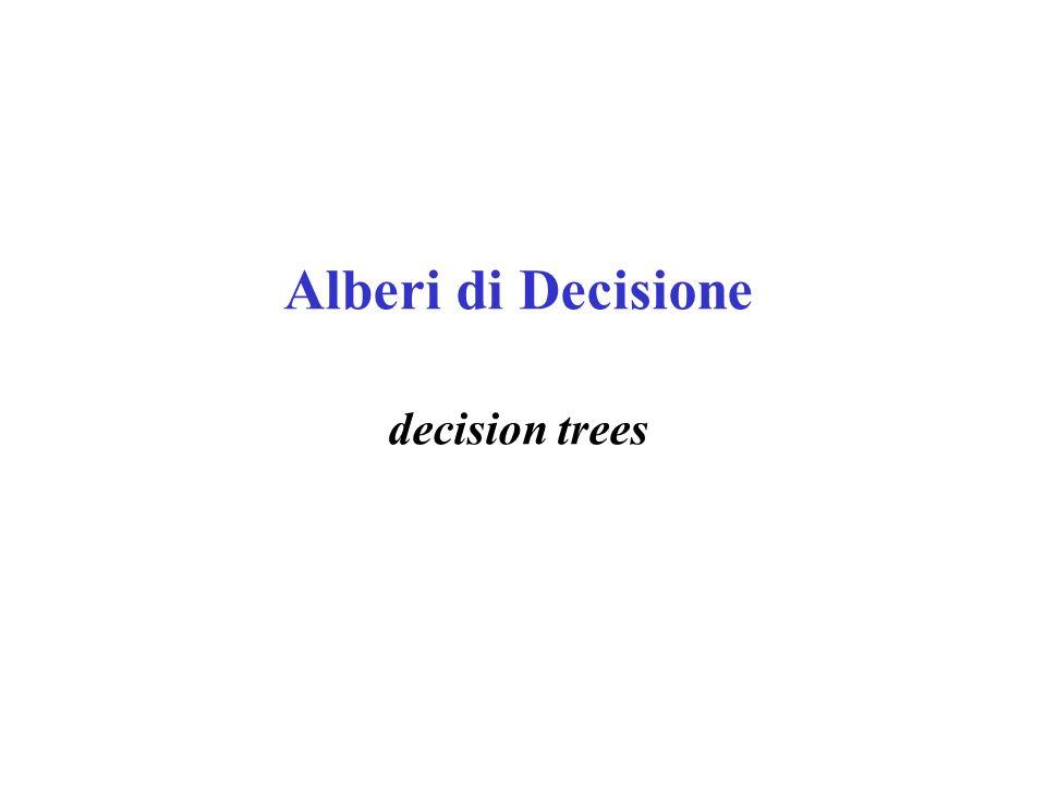 Alberi di Decisione decision trees