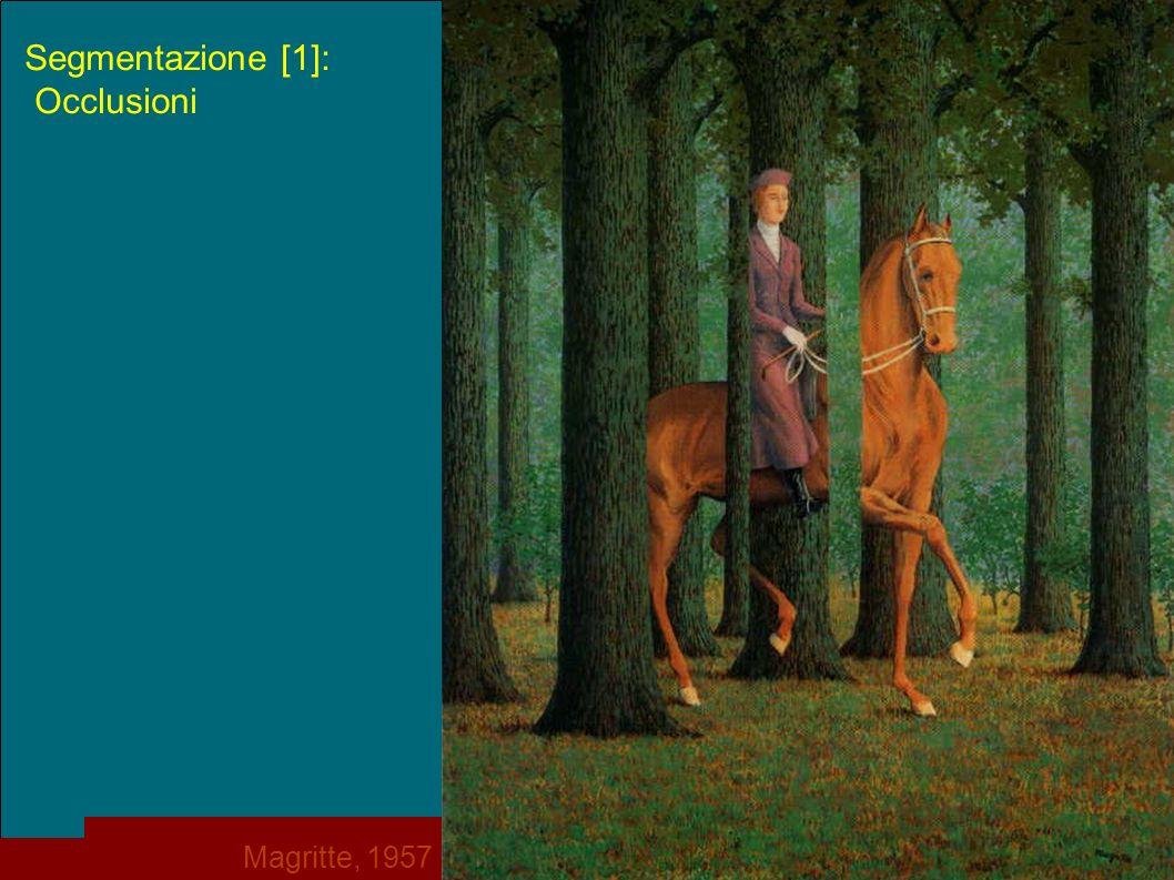 p. 13 Segmentazione [1]: Occlusioni Magritte, 1957
