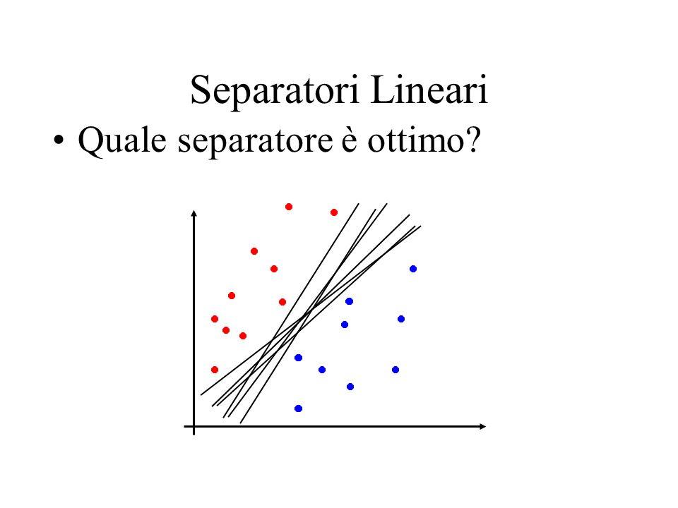 Minimi di una funzione vincolata Ma se la funzione è vincolata da una serie di vincoli: Dobbiamo trovare i valori estremi di f per i soli punti ristretti dai vincoli g I valori minimi di f sono ottenuti quando le superfici si toccano