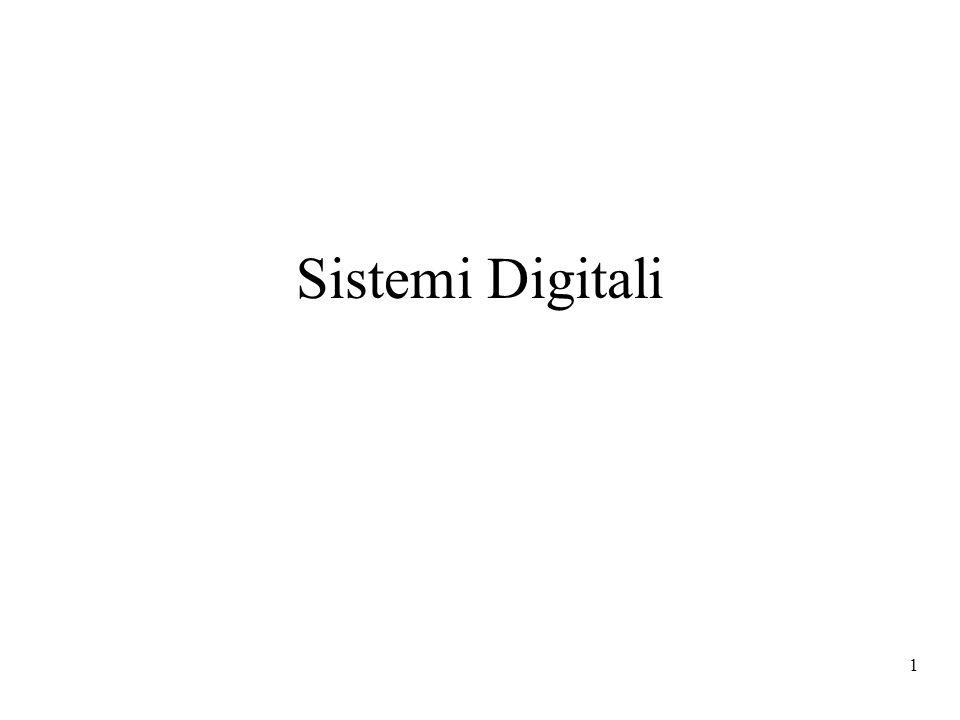 22 Riassumiamo Un alfabeto binario può essere usato per rappresentare lo stato di un componente digitale (aperto/chiuso, acceso/spento) Variabili binarie (booleane) ed un insieme di operatori algebrici possono essere usati per esprimere mediante espressioni algebriche la vista comportamentale di un circuito (x y) Infine, possiamo utilizzare codici binari per rappresentare le informazioni che entrano, vengono elaborate, ed escono in un circuito digitale (ad esempio gli addendi da sommare in un sommatore, ed il risultato della somma)
