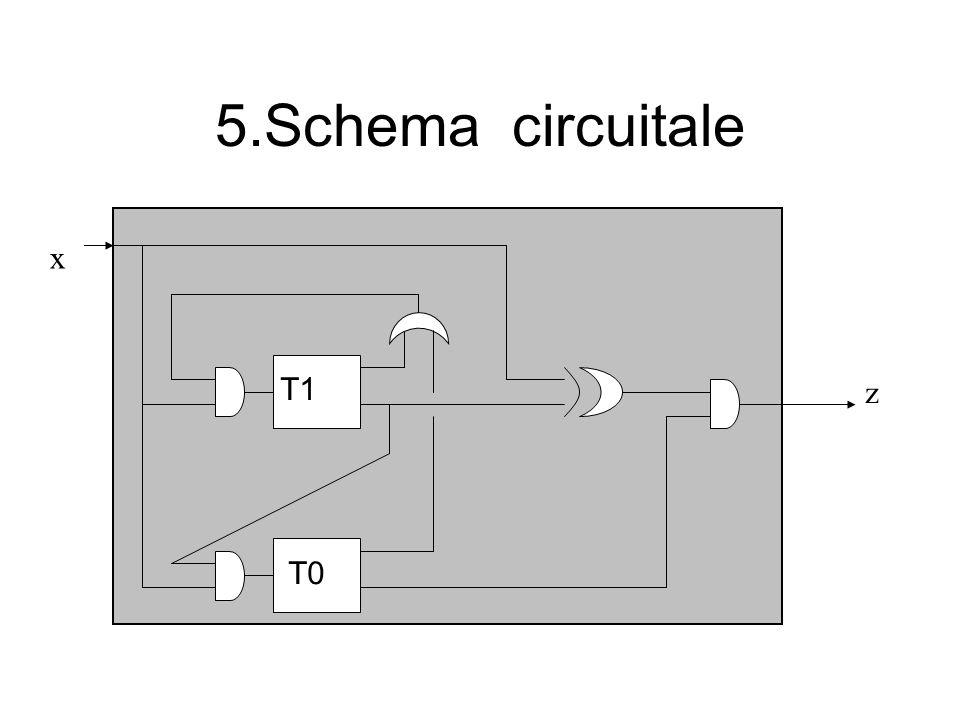 5.Schema circuitale x z T1 T0