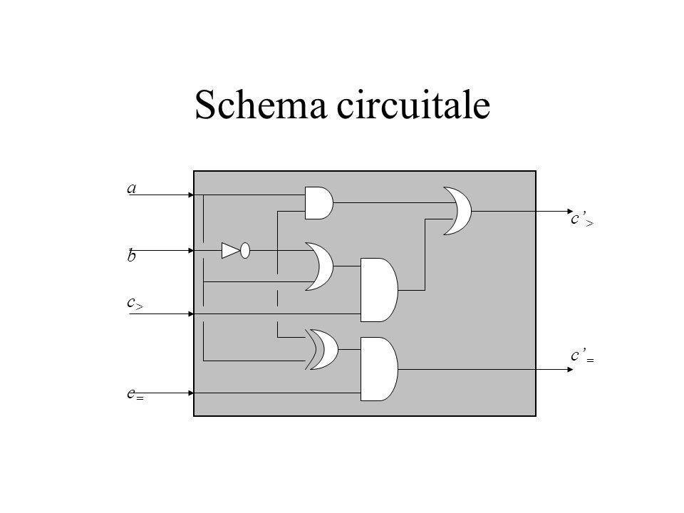 Schema circuitale abc>c=abc>c= c>c=c>c=