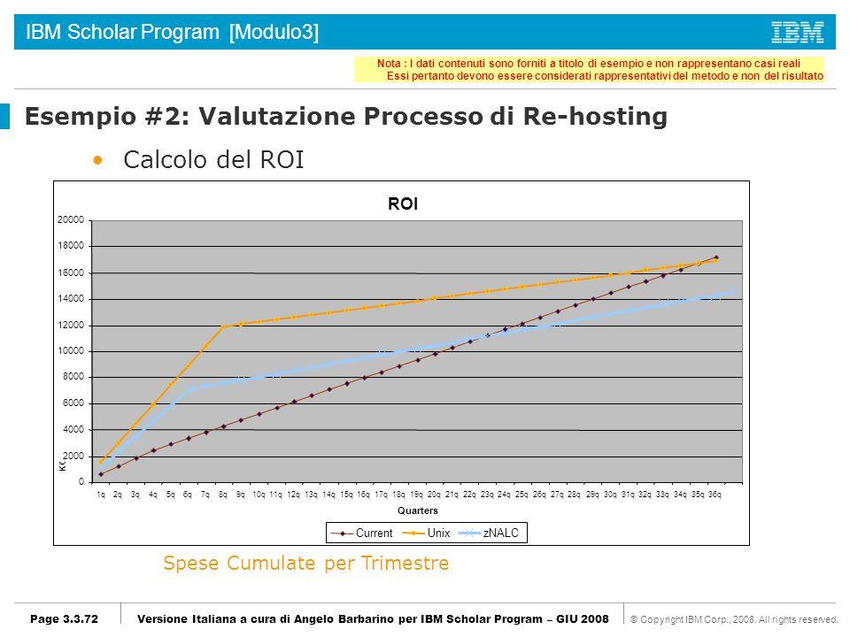 IBM Scholar Program [Modulo3] © Copyright IBM Corp., 2008.