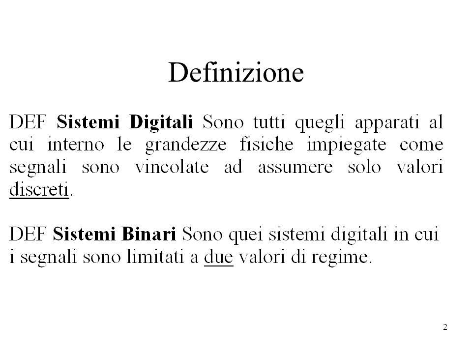 13 Esempi di codici Codice 1: lingua Italiana Macchina Razzo Aereo Codice 2: Linguaggio Binario 00 01 10 Codice 1Codice 2 Macchina00 Razzo01 Aereo10