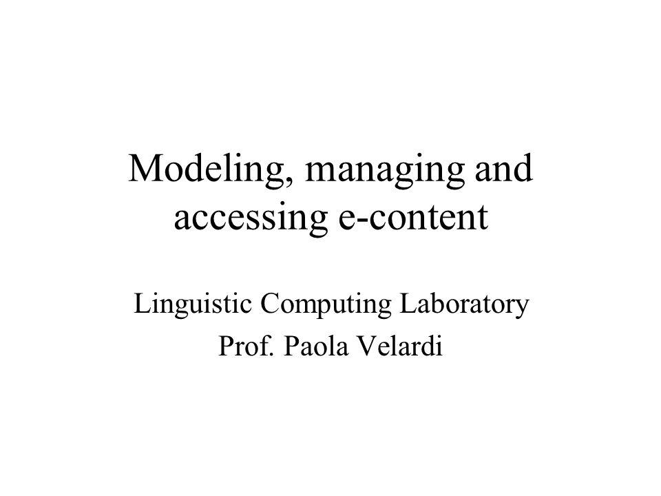 Aree di ricerca Metodologie –Elaborazione del Linguaggio naturale –Apprendimento automatico Applicazioni –Modellazione ontologica –E-learning –Information Retrieval