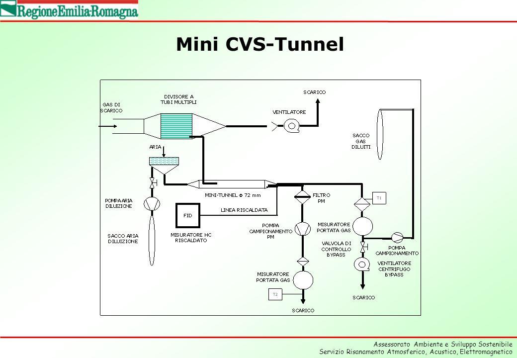 Assessorato Ambiente e Sviluppo Sostenibile Servizio Risanamento Atmosferico, Acustico, Elettromagnetico Mini CVS-Tunnel