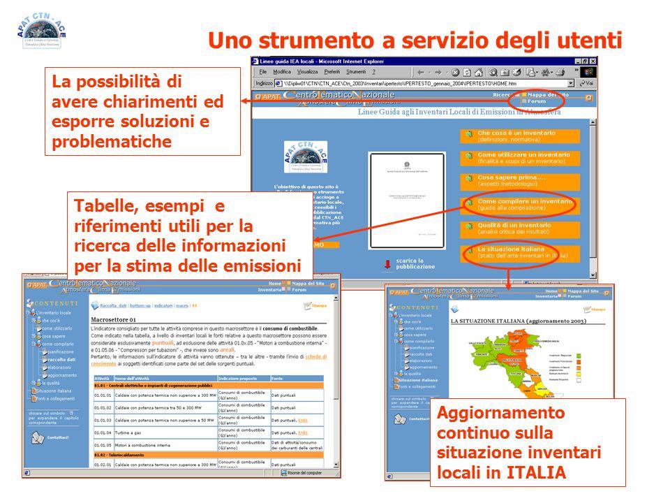 Uno strumento a servizio degli utenti La possibilità di avere chiarimenti ed esporre soluzioni e problematiche Aggiornamento continuo sulla situazione
