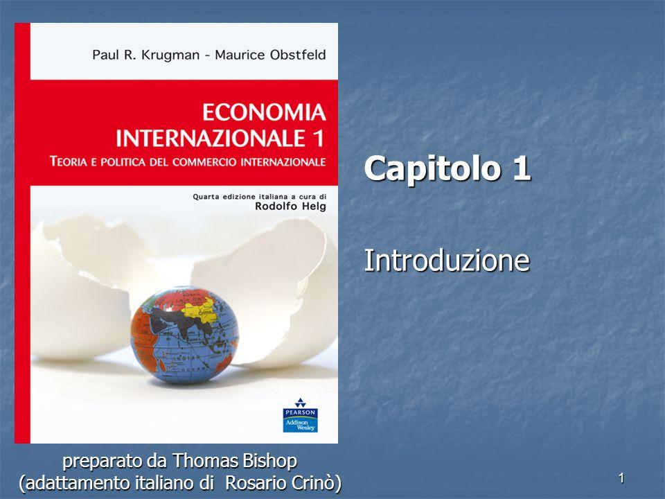 1 preparato da Thomas Bishop (adattamento italiano di Rosario Crinò) Capitolo 1 Introduzione