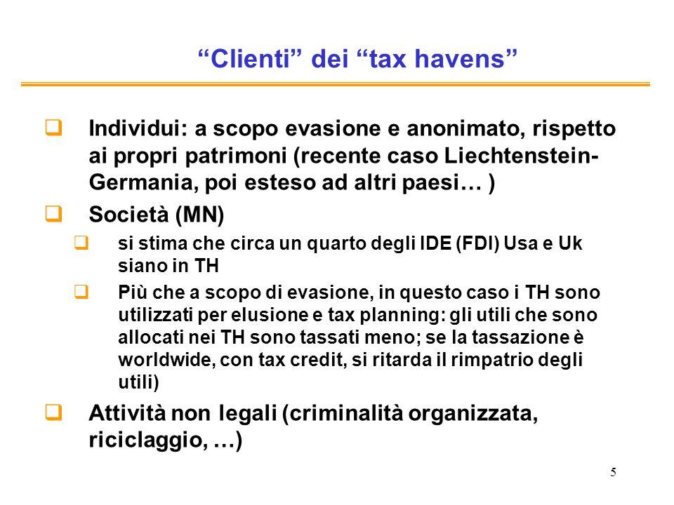 26 Risoluzione del Parlamento europeo del 10 febbraio 2010 sulla promozione della buona governance in materia fiscale (2009/2174(INI) http://www.europarl.europa.eu/sides/getDoc.do?pubRef=- //EP//TEXT+TA+P7-TA-2010-0020+0+DOC+XML+V0//IT) 16.