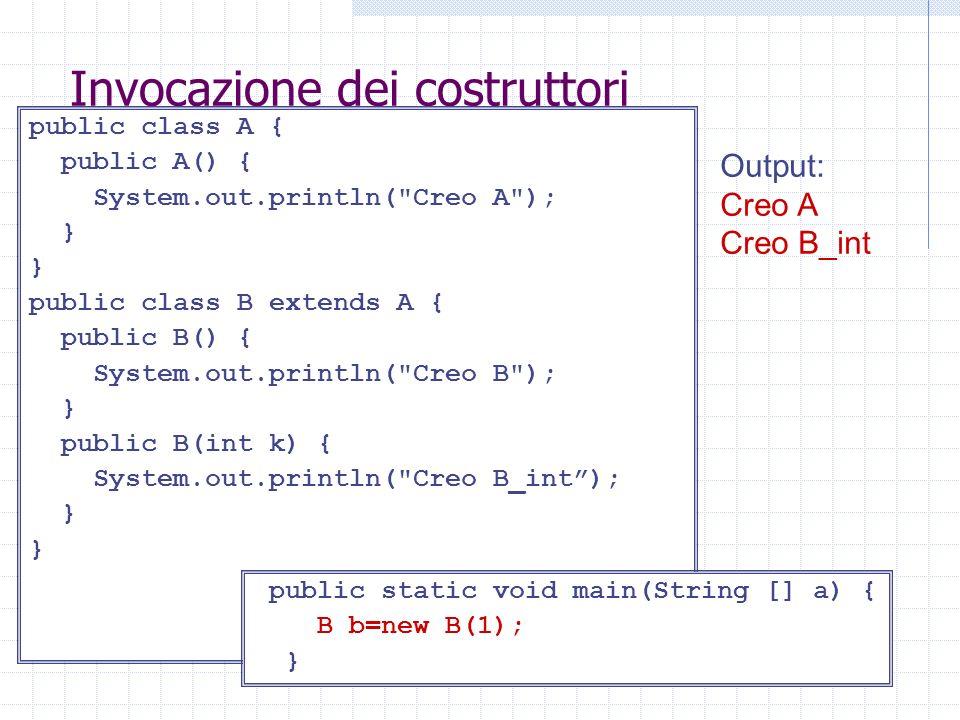 Coercion Una funzione può essere polimorfa senza essere stata disegnata tale intenzionalmente.