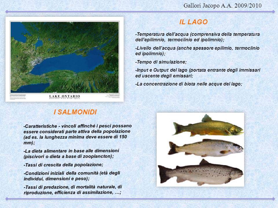-Caratteristiche - vincoli affinché i pesci possano essere considerati parte attiva della popolazione (ad es. la lunghezza minima deve essere di 150 m