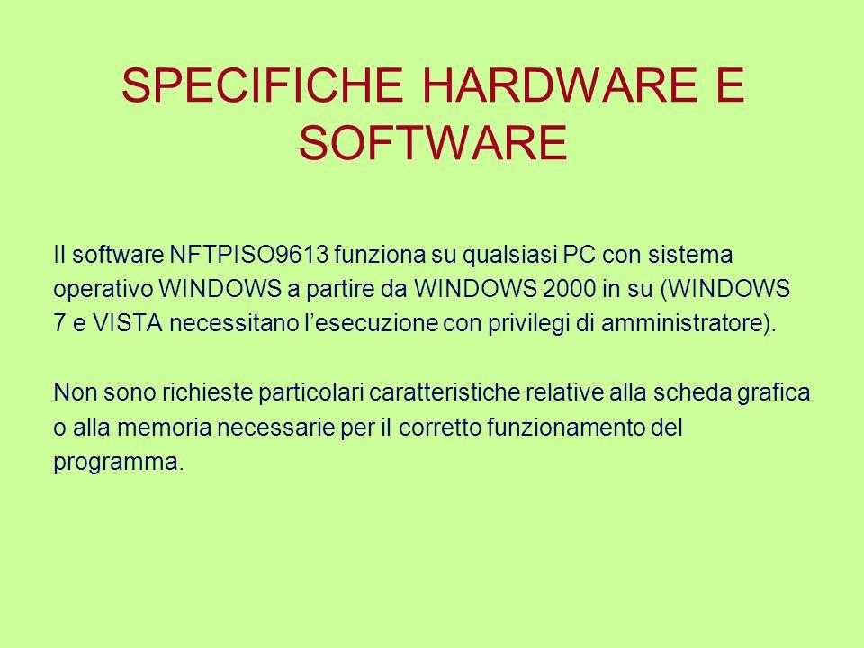 DATI NECESSARI PER IL FUNZIONAMENTO DEL SOFTWARE Il software NFTP Iso9613 contiene un modello di calcolo completo, basato sulla norma ISO 9613, e due modelli semplificati per la valutazione degli effetti delle barriere.