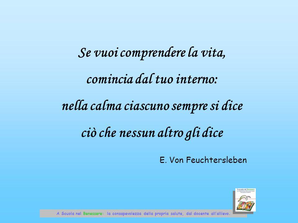 Se vuoi comprendere la vita, comincia dal tuo interno: nella calma ciascuno sempre si dice ciò che nessun altro gli dice E. Von Feuchtersleben A Scuol