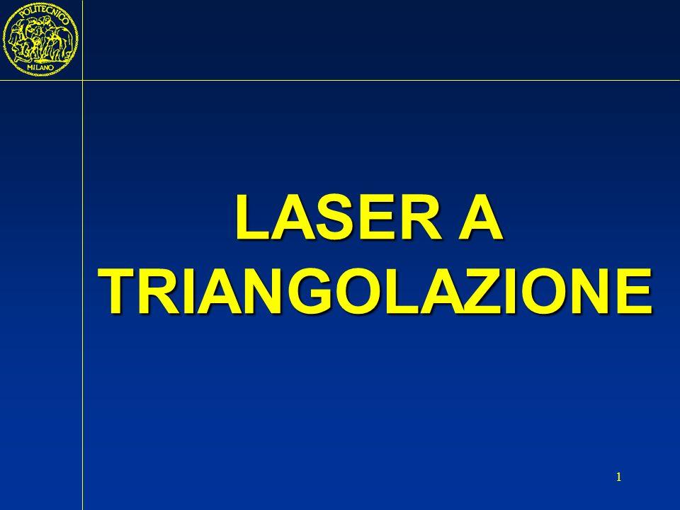 2 Fotorilevatorediodolaser campo di misura LASER A TRIANGOLAZIONE