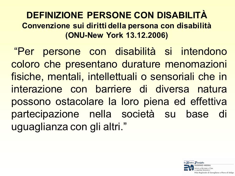 La Convenzione, con i suoi 50 articoli, elabora in dettaglio i diritti delle persone con disabilità. Si occupa, tra l'altro, di diritti civili e polit
