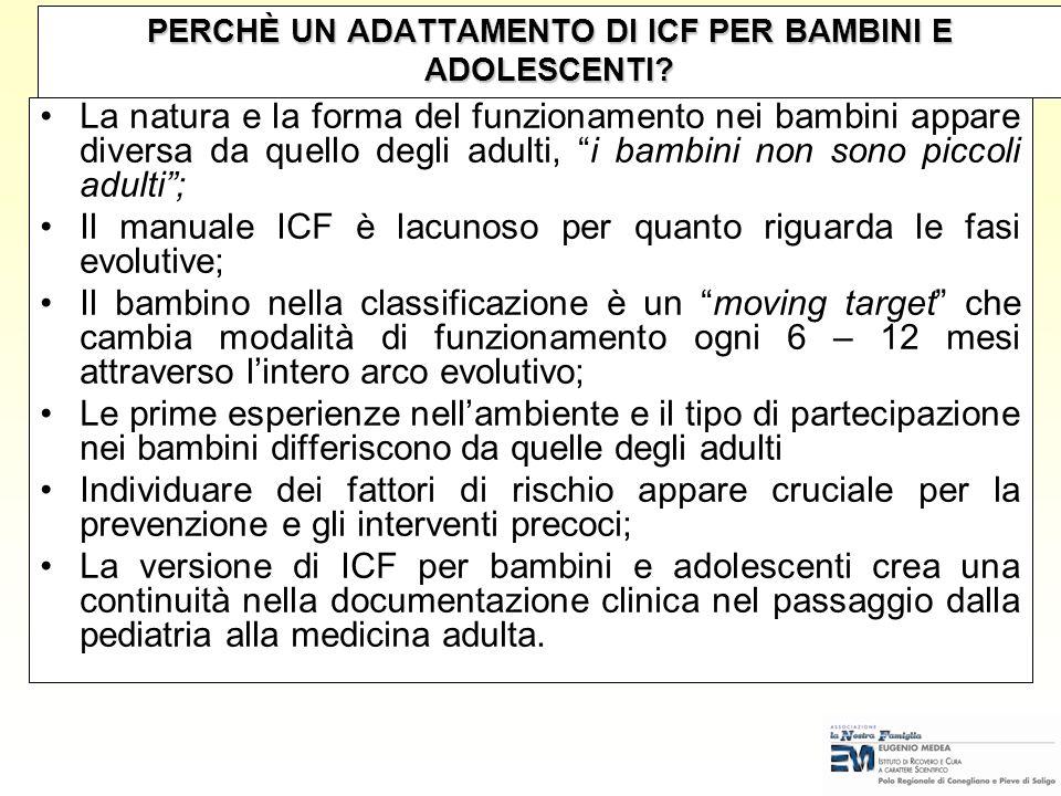 REFERENZE DOCUMENTALI Convenzione dellUN sui diritti dei bambini con particolare enfasi allarticolo 23 (1989) Standard Rules dellUN per le pari opport