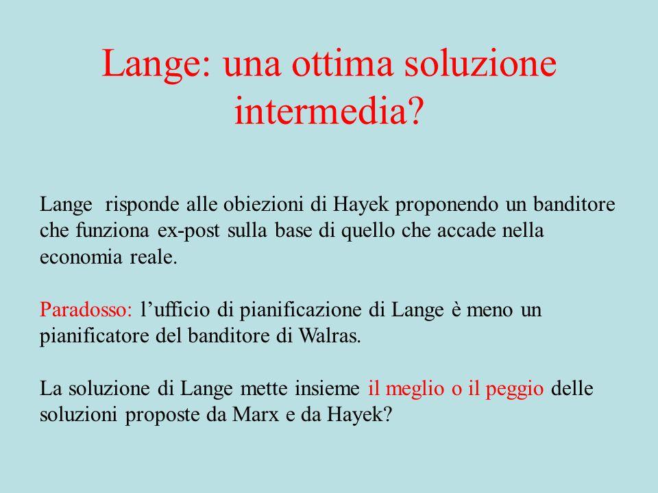Lange: una ottima soluzione intermedia.