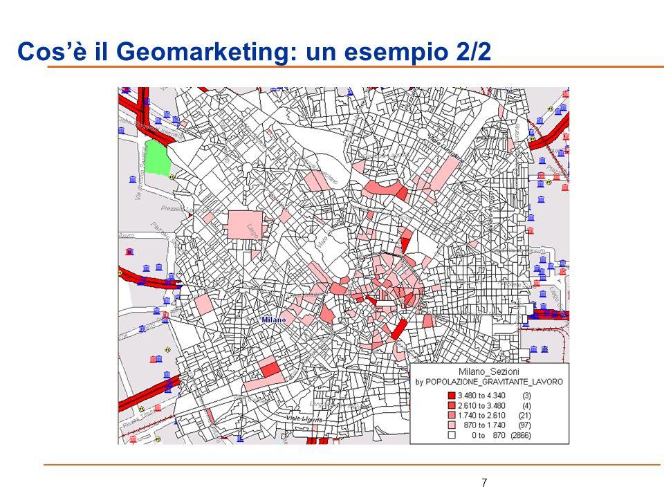18 Il Bacino, i Bacini costruiti ad hoc: Lanalisi del cliente (curva di Lorenz): Step 3: lestrapolazione dei dati