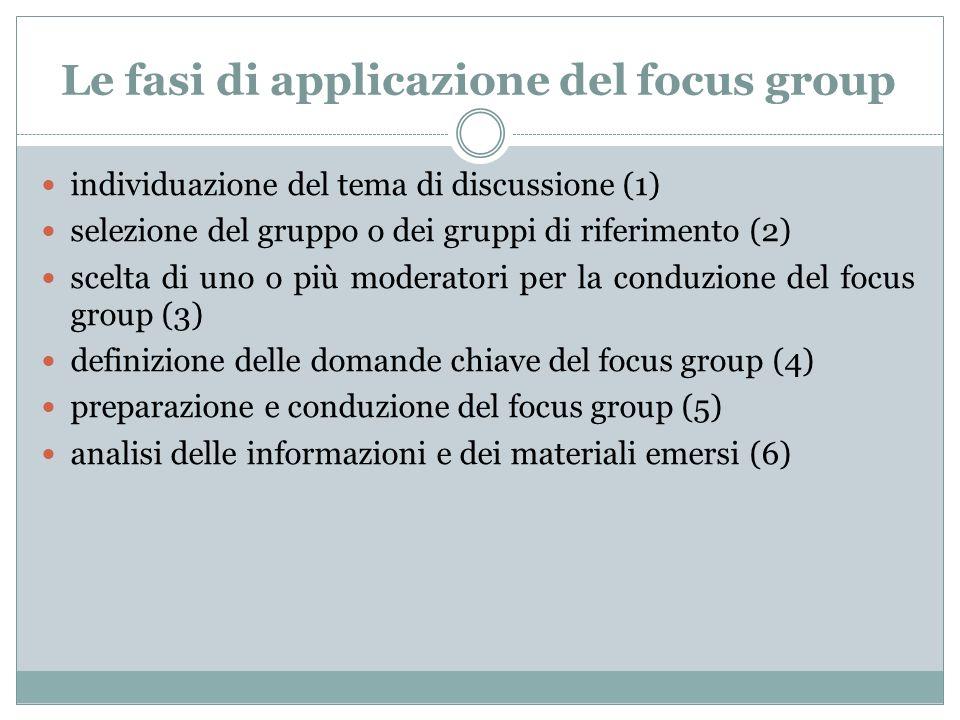 Omogeneità o eterogeneità dei partecipanti.La composizione del gruppo è una questione dibattuta.