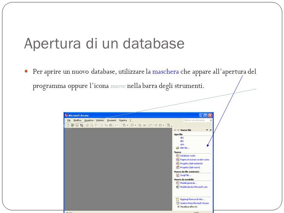 Interrogare il database: scrittura di interrogazioni 29 Si possono scrivere interrogazioni accedendo al task Query del pannello di controllo