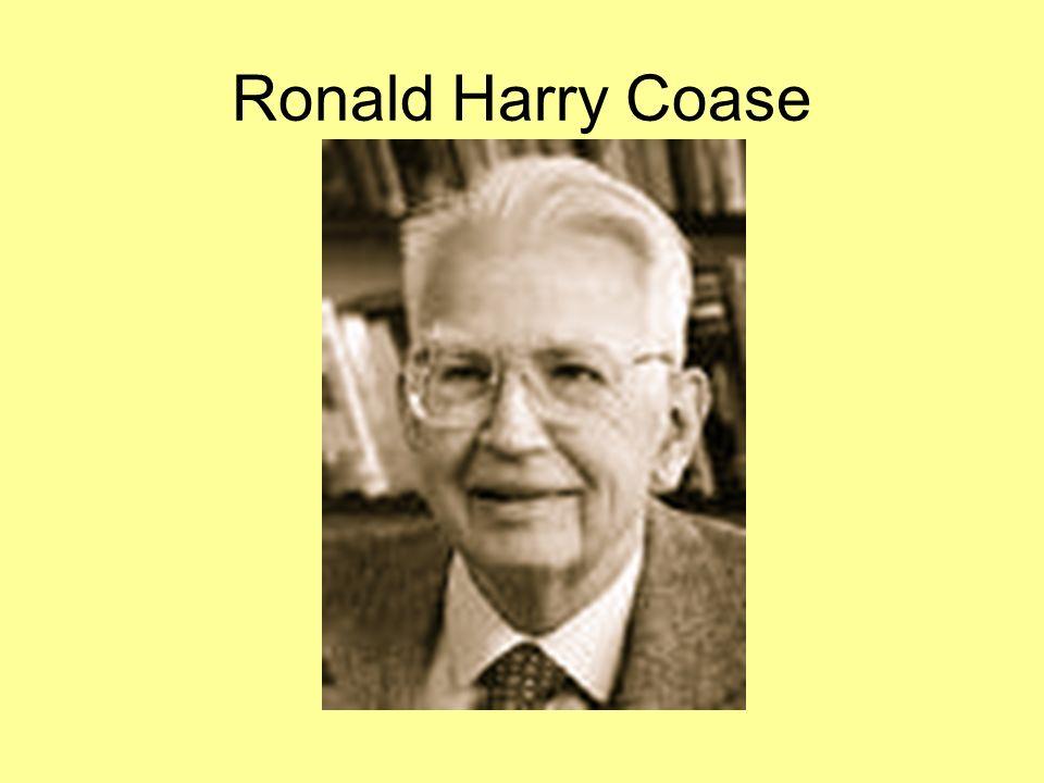 Ronald Harry Coase
