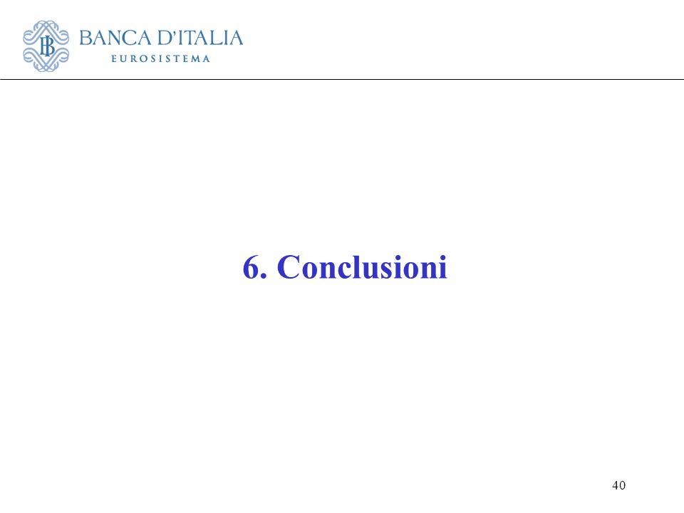 40 6. Conclusioni