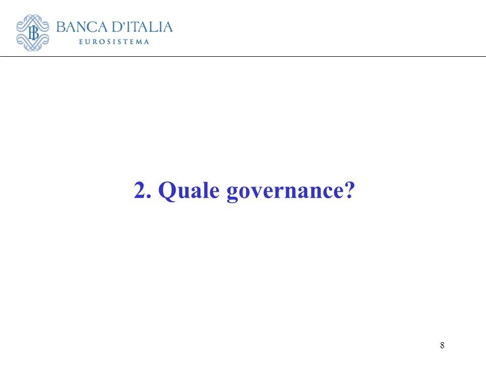 8 2. Quale governance?