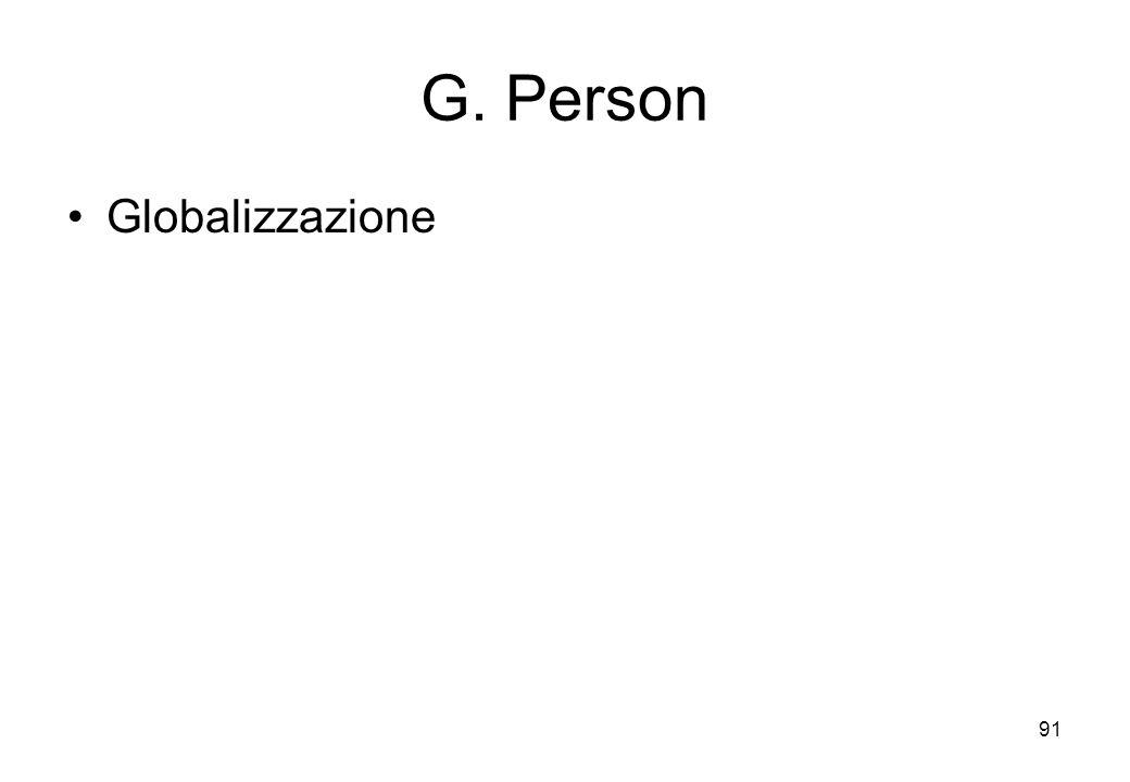 G. Person Globalizzazione 91