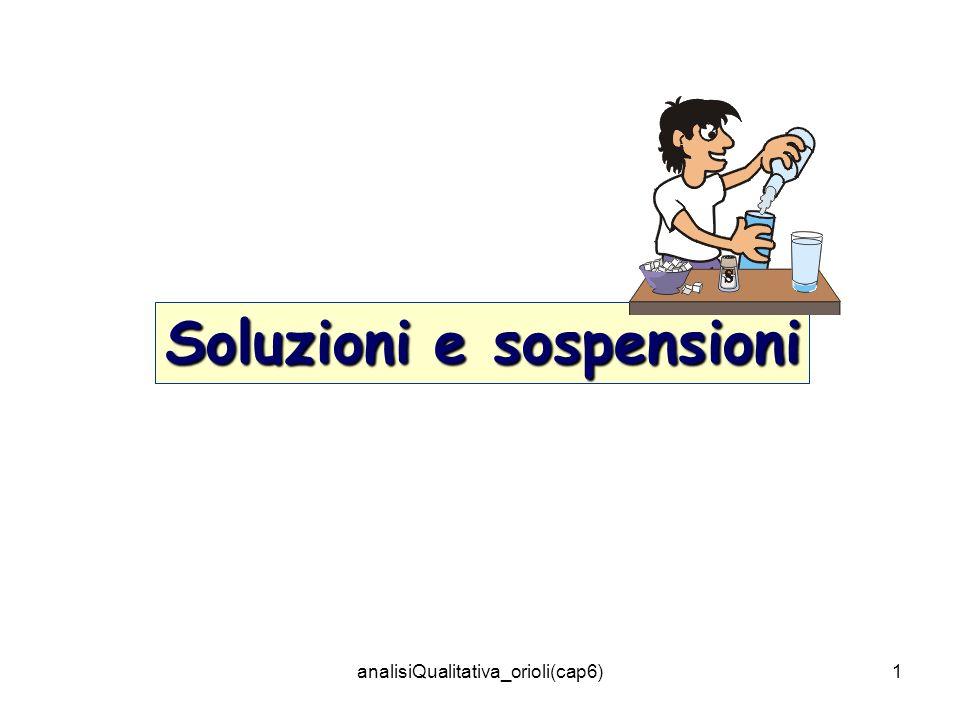 analisiQualitativa_orioli(cap6)1 Soluzioni e sospensioni