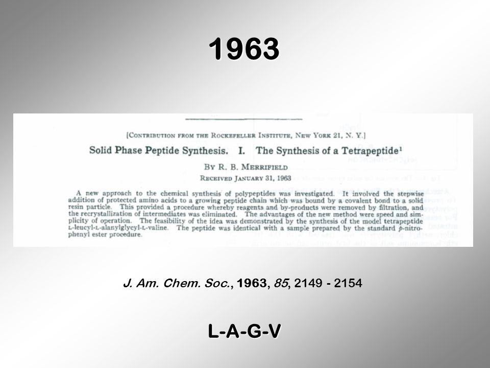 1963 J. Am. Chem. Soc., 1963, 85, 2149 - 2154 L-A-G-V