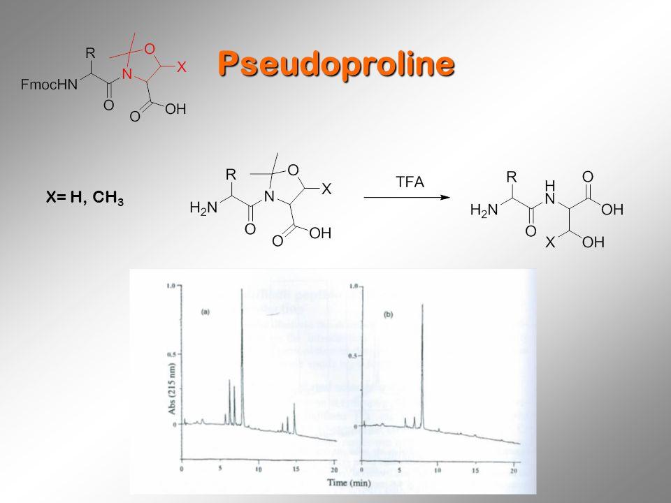 Pseudoproline X= H, CH 3