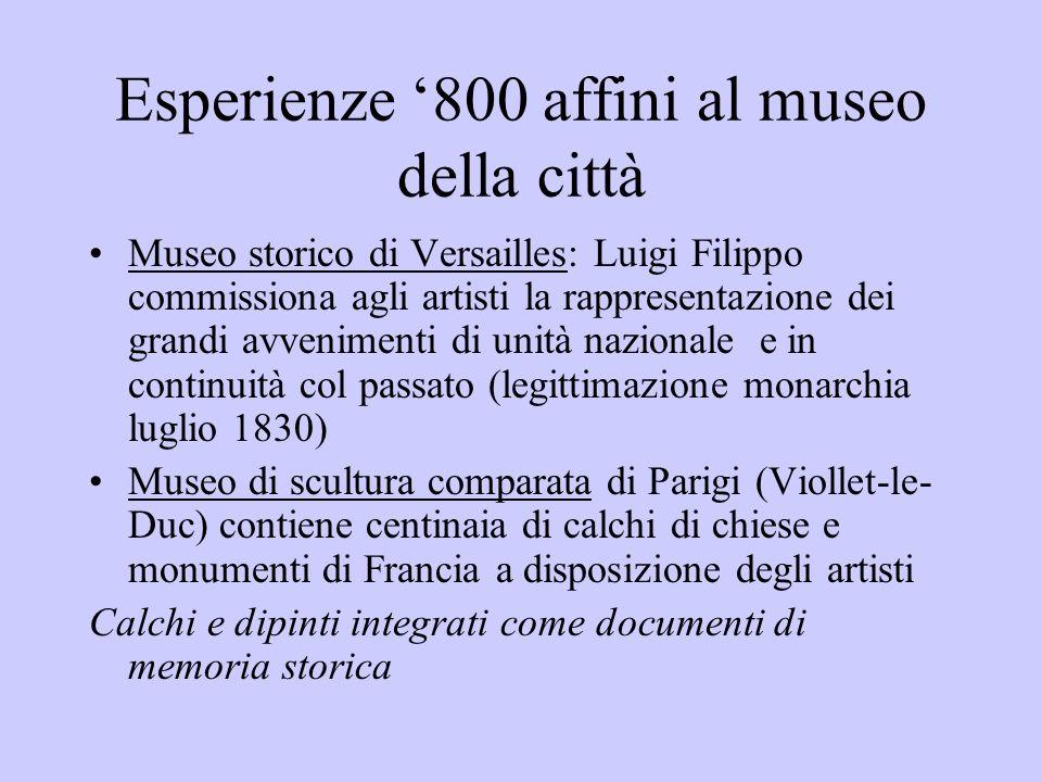 Esperienze 800 affini al museo della città Museo storico di Versailles: Luigi Filippo commissiona agli artisti la rappresentazione dei grandi avvenime