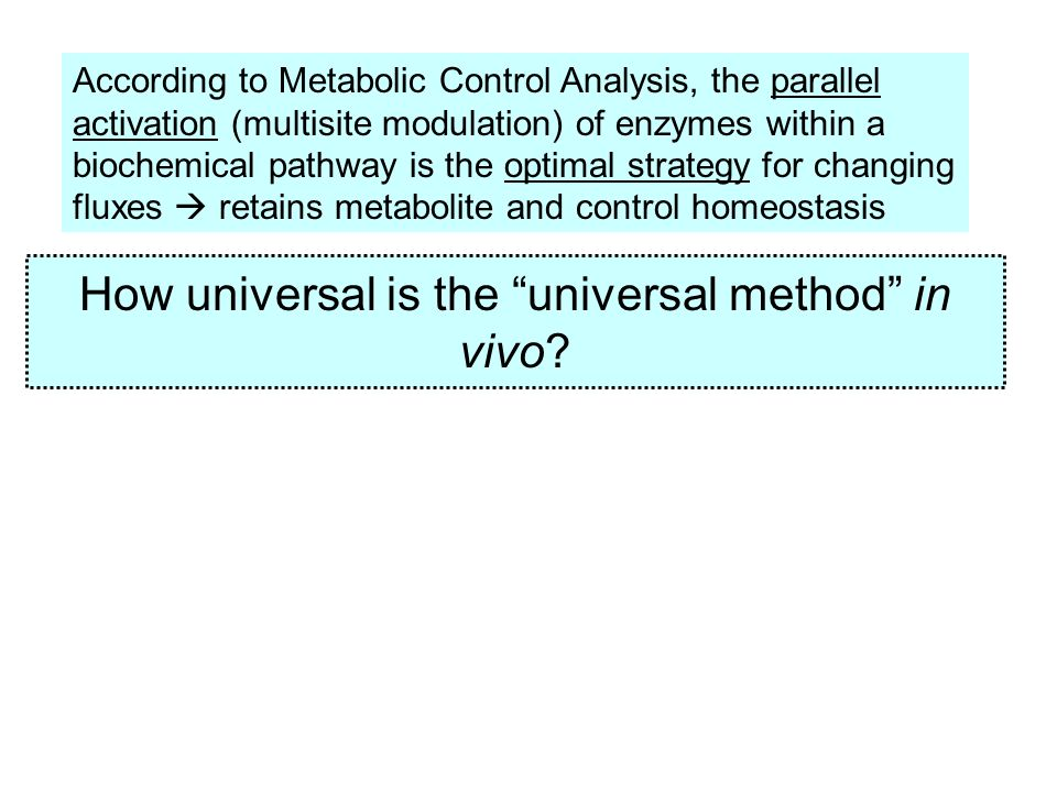 If a mRNA level changes, what happens to other ones in the same metabolic pathway.