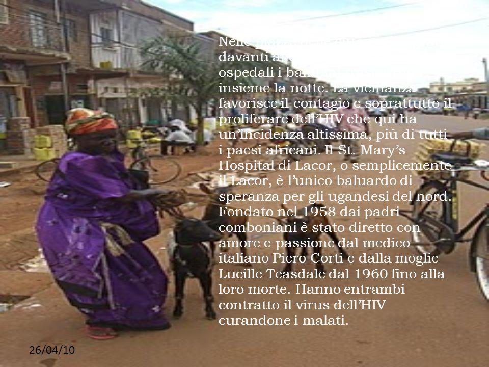 26/04/10 Nelle piazze delle città, nei sagrati davanti alle Chiese, nei cortili degli ospedali i bambini trascorrono insieme la notte. La vicinanza fa