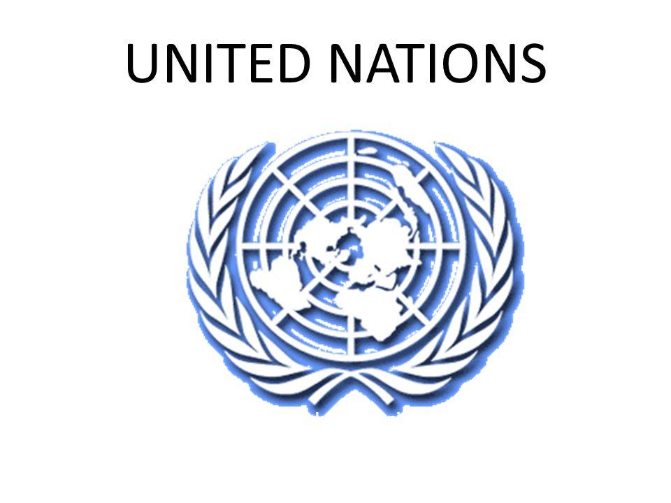 UNITED NATIONS (IT) Organizzazione delle Nazioni Unite (EN) United Nations Organization (FR) Organisation des Nations Unies (ES) Organización de las Naciones Unidas